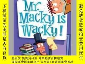 二手書博民逛書店My罕見Weird School #15: Mr. Macky
