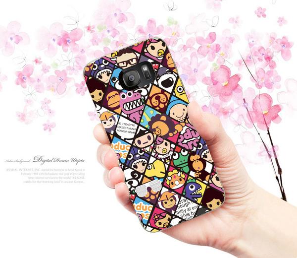 三星 Samsung Galaxy S7 EDGE SM-G935FD G9350 手機殼 軟殼 保護套 潮流格子
