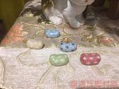 《齊洛瓦鄉村風雜貨》日本zakka雜貨 麻葉紋筷架 筷子擺放架 5入組