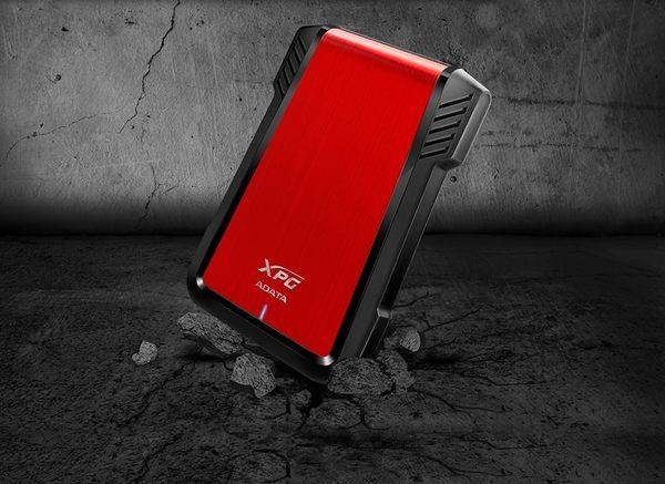 威剛 128GB SSD 固態硬碟+EX500 外接盒 USB3.1 2.5吋行動硬碟