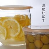 茶葉玻璃罐透明密封罐儲物分裝瓶甜品罐【櫻田川島】