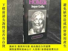 二手書博民逛書店1980年罕見Homer by Jasper Griffin 精