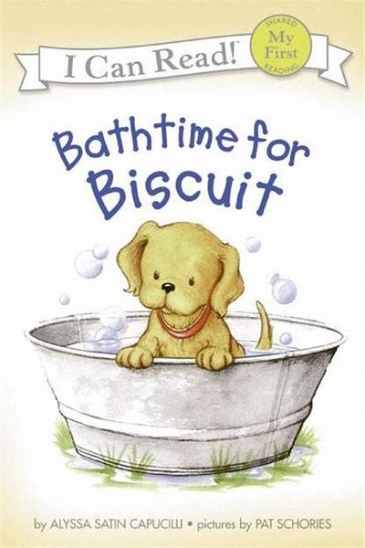 (二手書)An I Can Read Book My First Reading: Bathtime for Biscuit