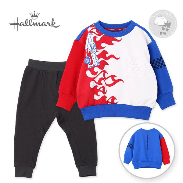 【網路獨家款】Hallmark Babies 男童撞色潮流套裝 HH8-B10-01-KB-PB