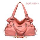 側背包。韓版 花苞造型 編織 流蘇 女手提包(SBA0201) AngelNaNa