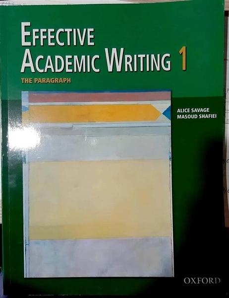 (二手書)Effective Academic Writing 1: The Paragraph