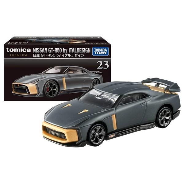 TOMICA PREMIUM 23 日產GTR 50 ITAL design TM17305 多美小汽車