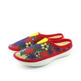 NIKE SOLARSOFT MULE 布鞋 紅色 印花 女鞋 555346-170 no113