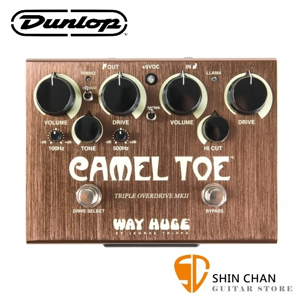 Dunlop WHE209 破音效果器【Way Huge/Camel Toe】