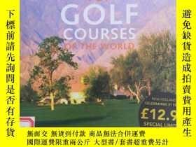 二手書博民逛書店Top罕見golf courses of the world世界