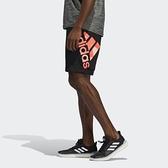 【一月大促折後$1380】ADIDAS LOGO 黑色 短褲 漸層LOGO 休閒 運動 慢跑 健身 男款 FS3660