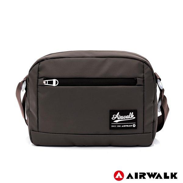 AIRWALK 晶彩生活休閒側背包 -咖啡色 A855300202