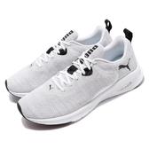 Puma 慢跑鞋 Hybrid Fuego Knit 灰白 黑 運動鞋 男鞋 【PUMP306】 19295502
