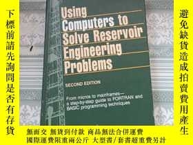 二手書博民逛書店USING罕見COMPUTERS TO SOLVE RESERV