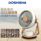 日本DOSHISHA 遙控擺頭DC循環扇...