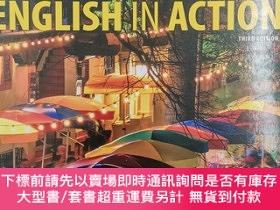 二手書博民逛書店english罕見in action 4 third edition teacher s guideY1913