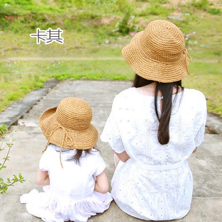 親子款 編織草帽 親子裝  比基尼 泳衣 泳裝  橘魔法 magicG 現貨 遮陽帽 防曬帽  母女裝