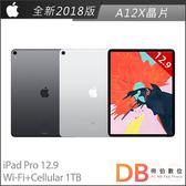 Apple iPad Pro 12.9吋 Wi-Fi+Cellular 1TB 平板電腦(6期0利率)-附抗刮保護貼+背蓋