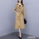 風衣女 女士風衣中長款2020年秋裝新款韓版休閒氣質收腰顯瘦百搭外套大衣 雙十一