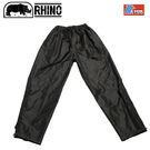 【RHINO 犀牛 雪巴高級透氣防水雨褲《黑》】PI-825/防水褲/雨褲/登山雨褲/雨衣