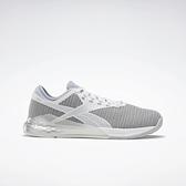 Reebok Nano 9 [FU7571] 女鞋 多功能 訓練 運動 慢跑 舒適 輕巧 靈活 緩衝 機動 柔軟 灰 銀