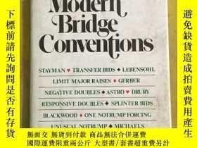 二手書博民逛書店Modern罕見Bridge Conventions 英文原版2