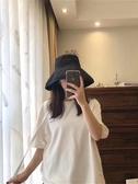 日本uv漁夫帽女夏遮陽帽韓版百搭日系大檐遮臉防曬帽子女防紫外線 極有家