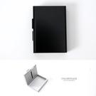 香菸盒 側掀式設計煙盒名片盒 個性金屬感...