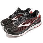 Brooks 慢跑鞋 Transcend 4 黑 紅 避震 輕量鞋面 舒適緩震 男鞋 運動鞋【PUMP306】 1102491D081