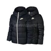 Nike 外套 NSW Windrunner Down-Fill Jacket 黑 白 女款 羽絨外套 雙面穿 【ACS】 939439-011
