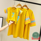 韓版夏裝百搭t恤親子裝母子母女裝【聚可爱】