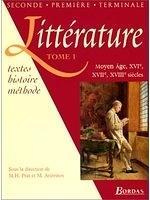 二手書博民逛書店 《Littérature. XVIe, XVIIe, XVIIIe siècle, tome1》 R2Y ISBN:2040284109│Prat