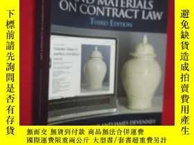 二手書博民逛書店Text,罕見Cases and Materials on Co