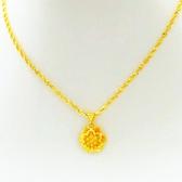 【新飾界】越南沙金項鍊女假黃金