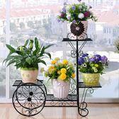 鐵藝花架綠蘿多層客廳組裝花架陽臺歐式花架子室內鐵藝花架落地式DI