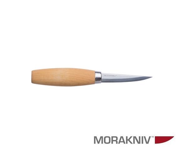 丹大戶外用品【MORAKNIV】瑞典 WOOD CARVING 106 層壓鋼經典木雕刀 原木色 106-1630