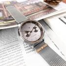 TOMMY HILFIGER / 1782304 / 簡約雙眼 典雅迷人 日本機芯 星期日期 米蘭編織不鏽鋼手錶 鍍灰 38mm