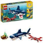 LEGO樂高 Creator 創意大師系列 深海生物_LG31088