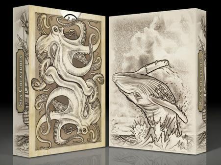 SEVEN SEAS sea creatures