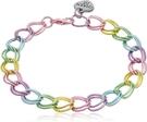 【4M】07540 美勞創作-彩虹雙環手鍊 Multi Double Link Bracelet