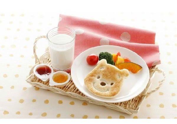 日本製 維尼 臉型吐司壓模 押花型板 餅乾壓模 麵包押模 091810 奶爸商城