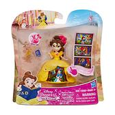 《 Disney 迪士尼 》Hasbro 迷你裙襬故事組 - 貝兒 / JOYBUS玩具百貨