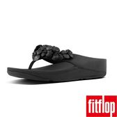 【FitFlop TM】RINGER FLOWER TM TOE THONG(黑色)