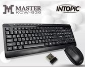 【超人生活百貨】INTOPIC 廣鼎 2.4GHz無線鍵盤滑鼠組合包(KCW-936) 鍵盤防潑濺 三段式自動省電