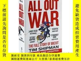 二手書博民逛書店脫歐如何擊沉了英國的政治領導階層罕見英文原版 All Out W