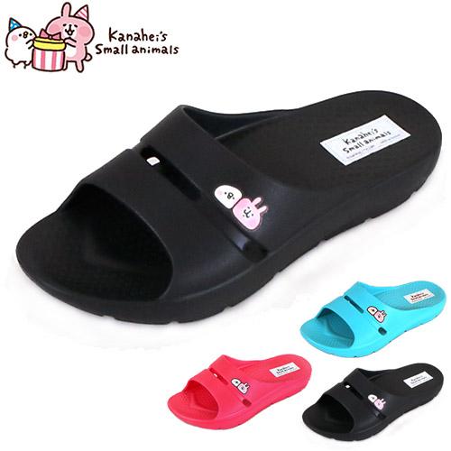 女鞋 卡娜赫拉 Kanahei's P助和兔兔 1476 舒適柔軟防水止滑 防水拖鞋 厚底拖鞋 59鞋廊