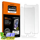 [106美國直購] Spigen B01LRVG4QO 手機螢幕保護貼 Moto Z Droid Screen Protector Tempered Glass 2 Pack