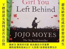 二手書博民逛書店the罕見girl you left behind 外文原版Y287864 馬爾克斯