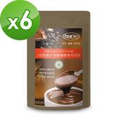 【樸優樂活】100%義大利無糖醇香可可粉(200g/包)*6