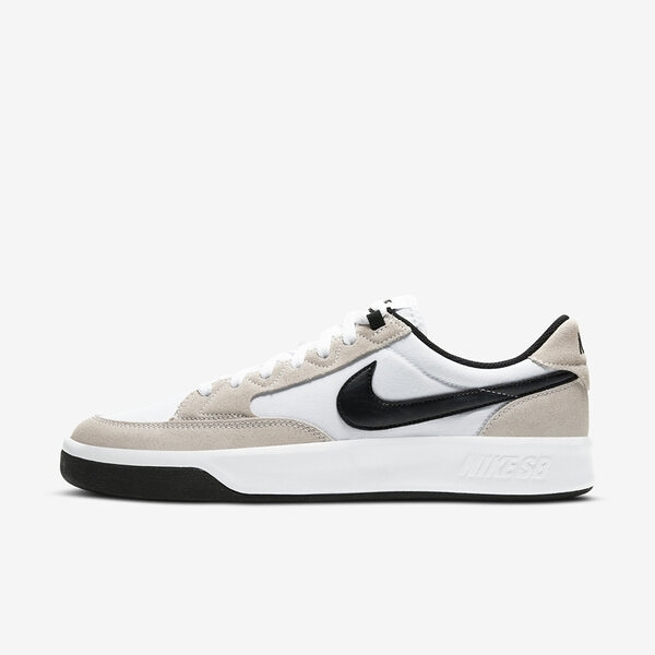 Nike Sb Adversary Prm [CW7456-100] 男鞋 運動 休閒 滑板鞋 緩震 抓地力 白 黑
